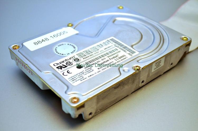 Quantum Fireball SCSI zur Datenrettung
