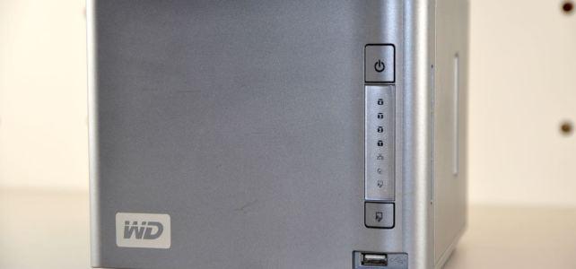 NAS Datenrettung, System von Western Digital