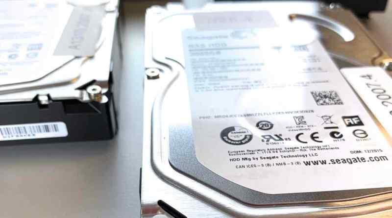NAS RAID 5 mit 4 Festplatten gerettet