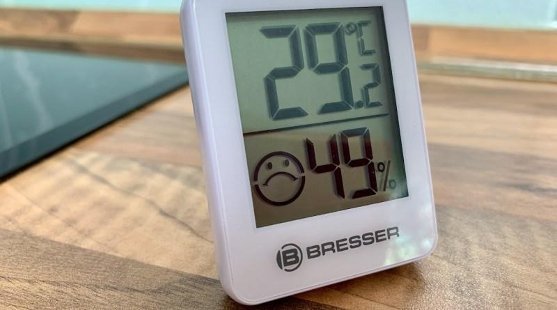 Ungemütlich - hohe Temperaturen und Luftfeuchtigkeit