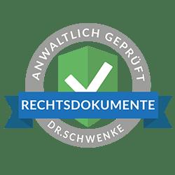 Rechtstext von Dr. Schwenke - für weitere Informationen bitte anklicken.