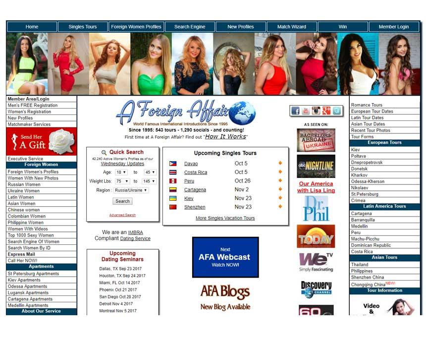 Loveme.com's homepage