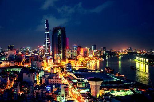 Sunny Tropical Ho Chi Minh City