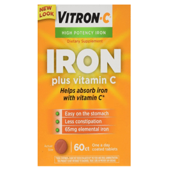 Vitron-C Iron Supplement