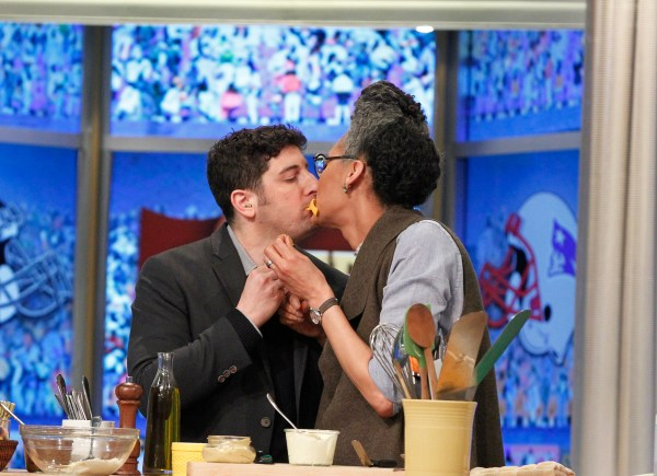 Carla Hall's Super Sunday Snackdown on The View   The View