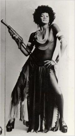 6'2 and sexy Tamara Dobson aka Cleopatra Jones