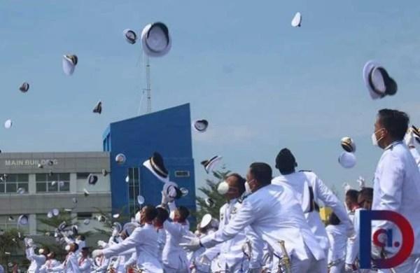131 Perwira Politeknik Pelayaran Sumatera Barat Dilantik 3
