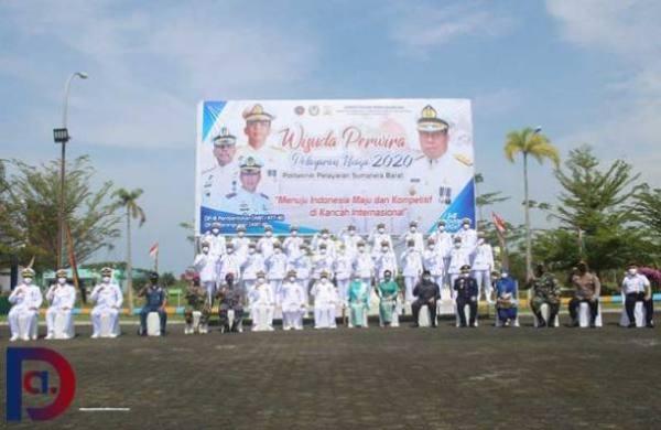 131 Perwira Politeknik Pelayaran Sumatera Barat Dilantik 4