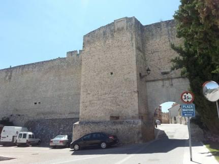 Cuellar muralla