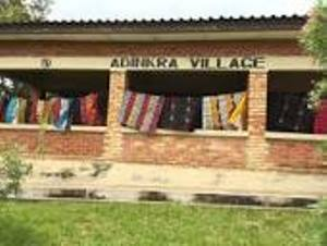 nice places to visit in ghana= ntonso adinkra village