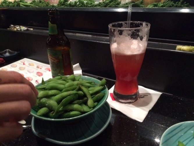 edamame-and-beer