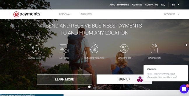epayments online payment services