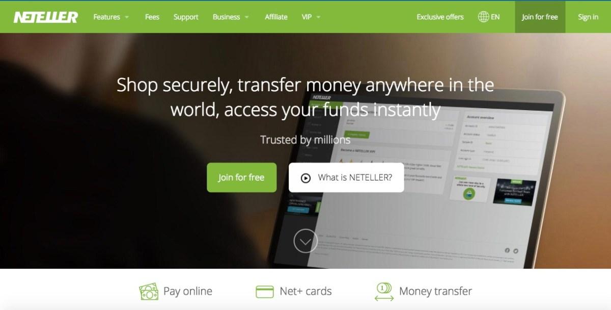 neteller payment processing