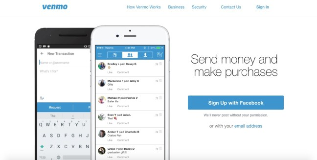 venmo mobile pay