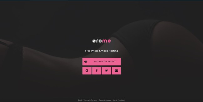 erome login page