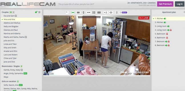 reallifecam kitchen