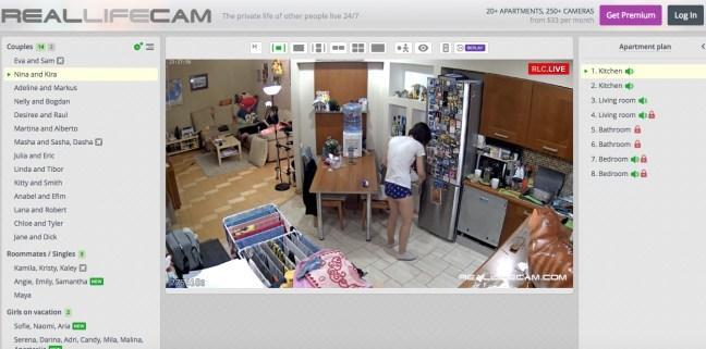 reallifecam kitchen