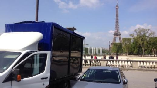 box sex truck in paris