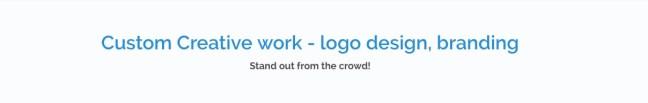 custom logo design adent io
