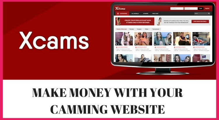 make a cam site with xcams