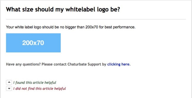 chat urbate logo size