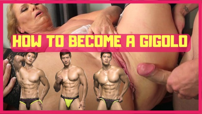 how to become a gigolo