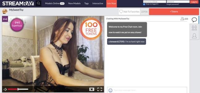 streamray chatroom