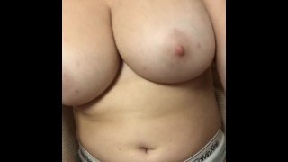 Real Girl With Massive Tits Gets Naughty On Snapchat Stories