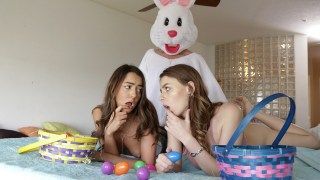 Beautiful College Girls Get A Creampie Surprise