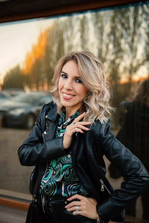 Kristina russian bridesmaid