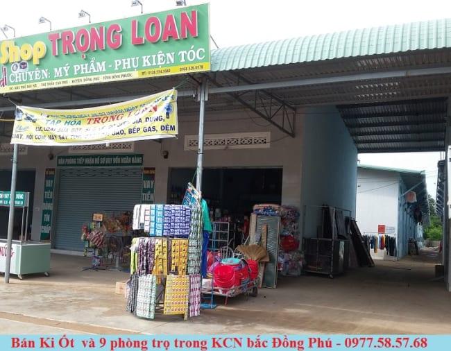 Bán Ki Ốt và 9 Phòng Trọ trong KCN Bắc Đồng Phú