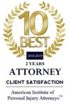 2018-2019 10 BEST Personal Injury Attorney