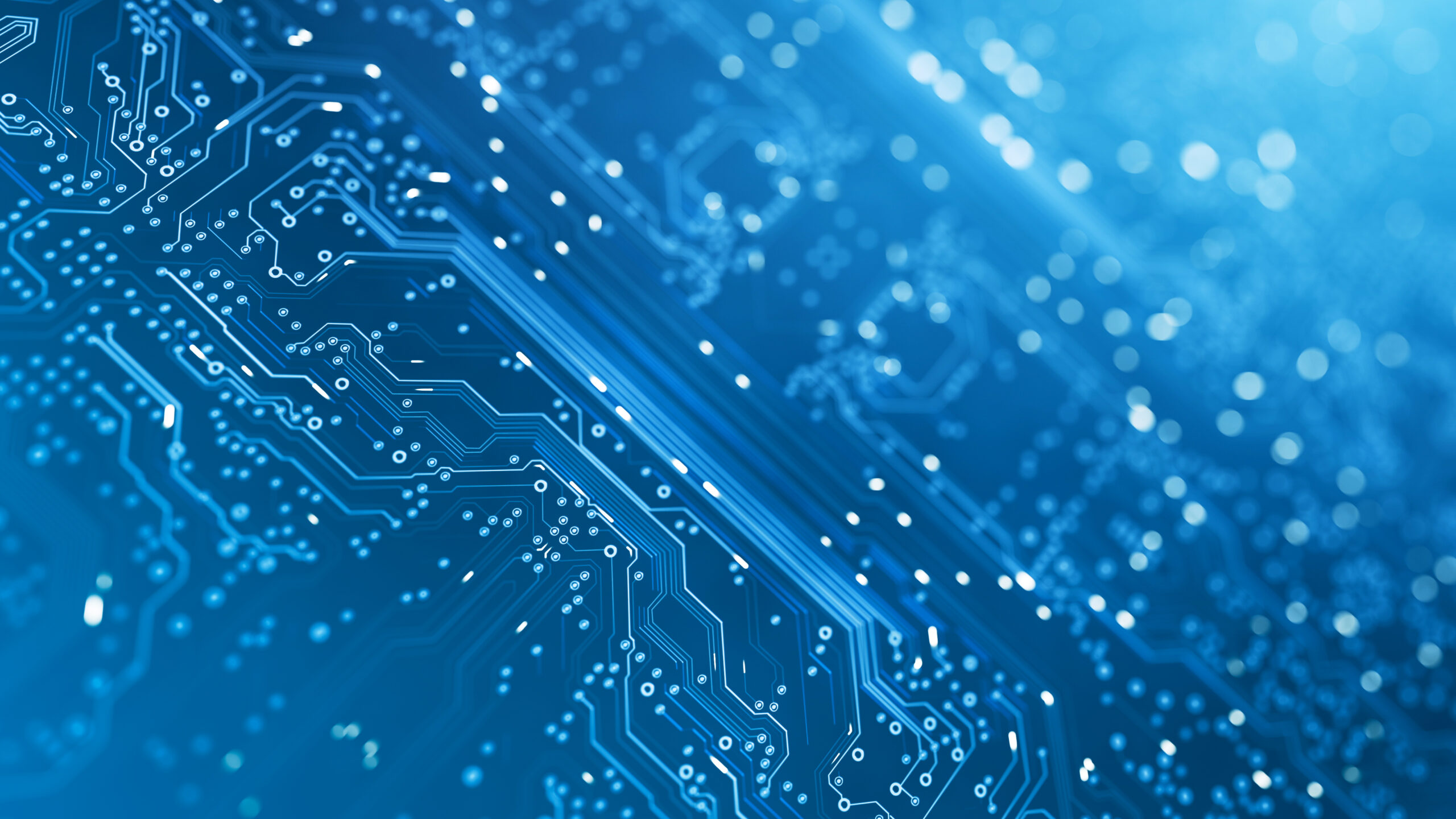 Circuit Board - Blue - Computer, Data, Technology, Artificial Intelligence