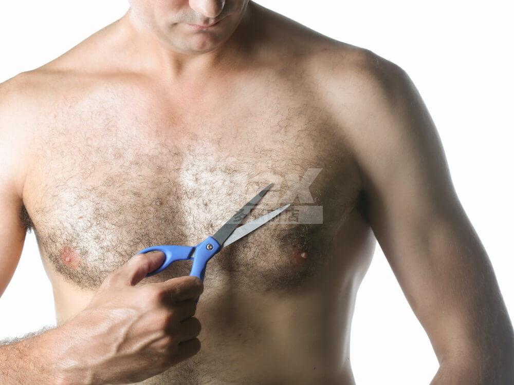 自宅でもサロンでも胸毛の処理をして、女子からモテる胸になりましょう
