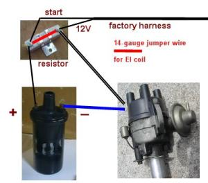 Electronic Ignition Conversion  Factory Datsun