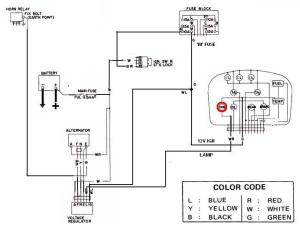 Tech Wiki  Alternator Wiring : Datsun 1200 Club