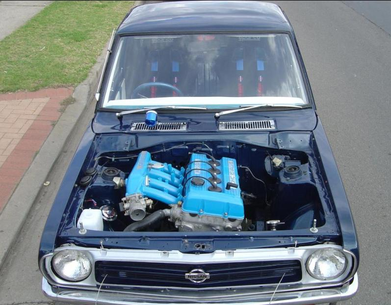 Datsun B210 Engine Swap
