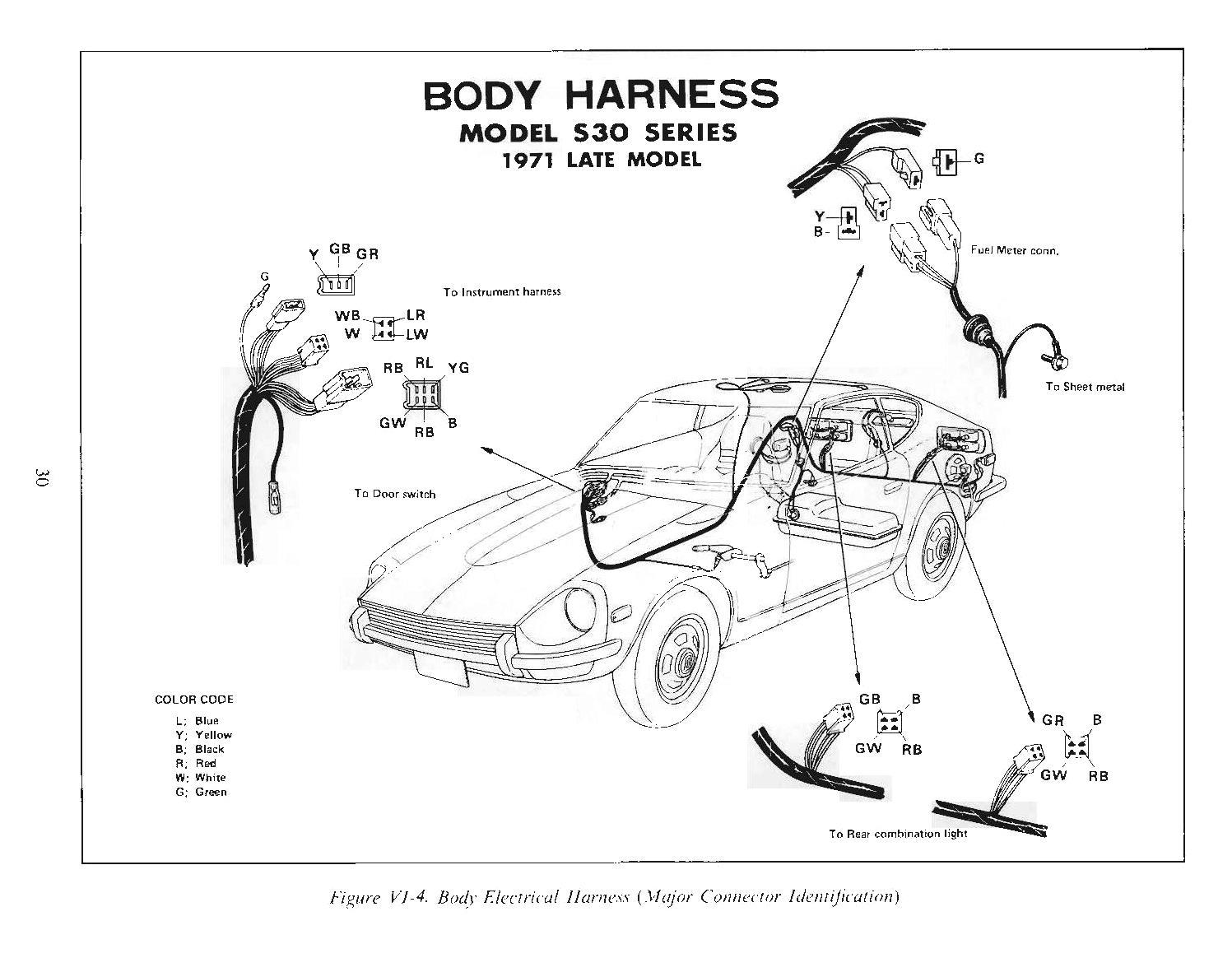 Datsun 280z Wiring Diagram