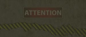 ご注意下さい