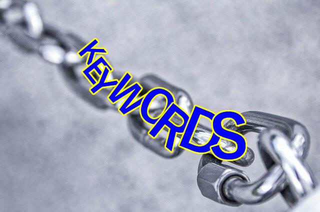 関連キーワードの選定方法