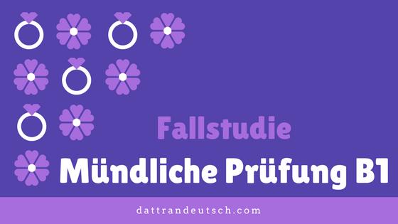 Musterbriefe B1 Prüfung : Case study ph n tích một bài thi nói b tiếng Đức thực tế