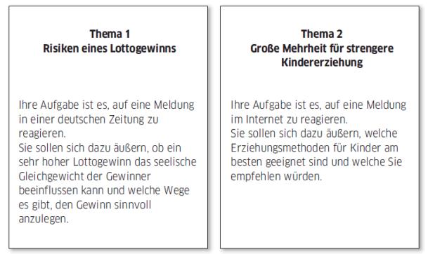 Học tiếng Đức miễn phí với DatTranDeutsch - Bài thi B2 phần viết 1a