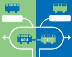 Mapeo de redes de transporte público con OpenStreetMap (OSM) y GTFS
