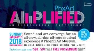 Datura Performs at Phoenix Art : Amplified