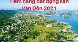 Tiềm năng thị trường bất động sản Vân Đồn năm 2021