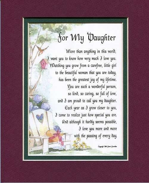 A Poem for Daughter