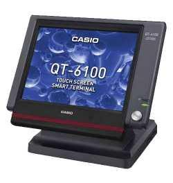 caisse enregistreuse casio qt-6100