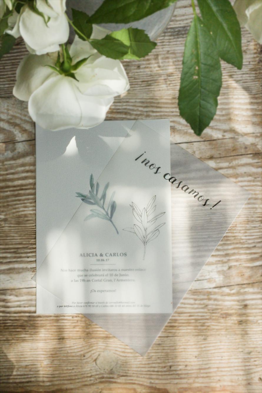 Invitació casament Girona