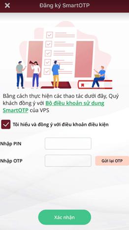 cách đăng ký Smart OTP trên app SmartOne