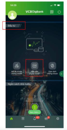 ứng dụng VCB Mobile Banking